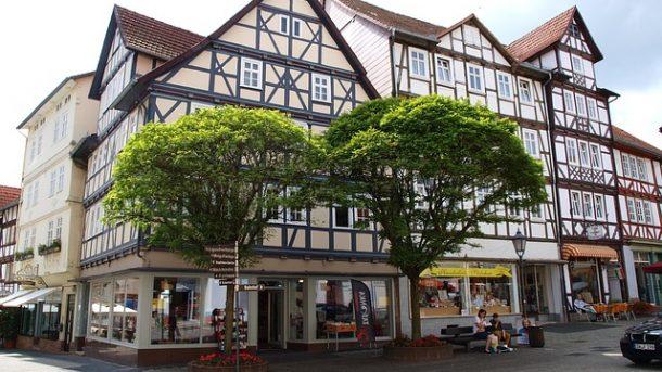 Fachwerkhäuser in Eschwege